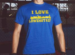 Braunschweig I love Löwenstadt Shirt Blau