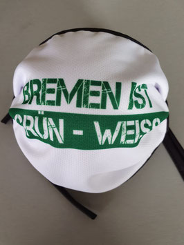 Bremen ist grün weiss Maske