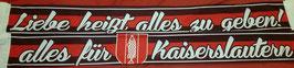 Kaiserslautern Liebe Seidenschal