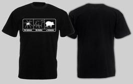 ACAB Bullenschweine Schwarz Shirt