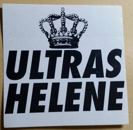 150 Ultras Helene Krone Aufkleber