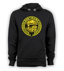 Dortmund U Turm Logo Hoodie