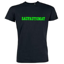 Saufautomat Shirt Schwarz