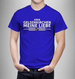 Gelsenkirchen Meine Liebe untereinander Shirt Blau