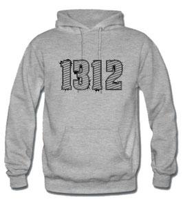 1312 Hoodie Grau