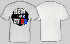 Nein zu RB Shirt Weiss