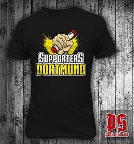Dortmund Supporters Fackel Shirt
