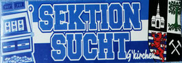 Gelsenkirchen Sektion Sucht Aufkleber