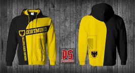 Dortmund Sweatjacke Adler Gelb schwarz