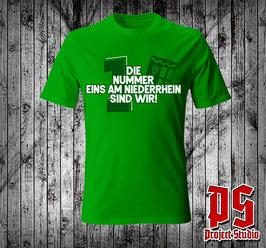 Mönchengladbach Die Nummer 1 am Niederrhein (Grosse 1+Wappen) Shirt