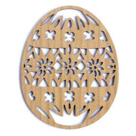 Etno Design(エトノデザイン) 木製オーナメント《イースターエッグ》
