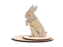 木製 アニマルオーナメント 《ウサギ》