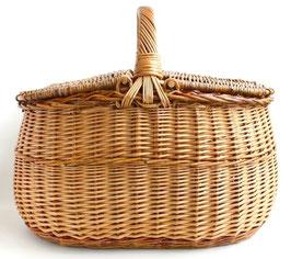 リトアニア製 ピクニックバスケット