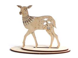 木製 アニマルオーナメント 《鹿》