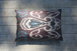 Ikat silk/ cotton - 60x 40cm