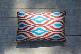 Ikat silk/ cotton - 60x 40cm
