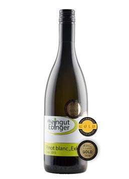 """Pinot Blanc 2015 ,,Exklusiv"""""""