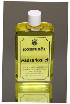 Körperöl wasserlöslich