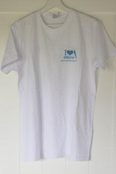 Camiseta algodón Equipo EDUCA LOVERS