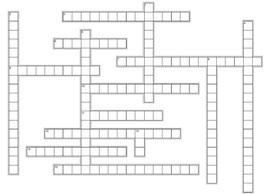 Geprüfter Wirtschaftsfachwirt - Kreuzworträtsel