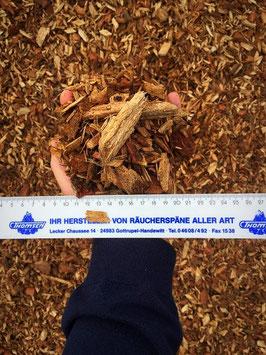 Garten Hackschnitzel Eiche / Beetabdeckung, 1 m³