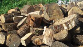 Eichen-Brennholz, Stammholz Fußstücke, 1 srm