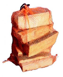 Buchenbrennholz im Raschelsack ca. 10 kg, 72 Sack (1 Pal. = 1,6 rm)