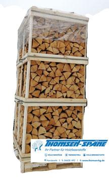 Birkenbrennholz in Einwegbox, 2,8 srm