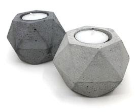 Teelichthalter Diamant
