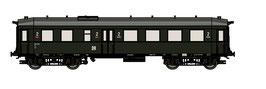 "TT Reisezugwagen ""Altenberg"" 2. Klasse DR EP.III (Art.-Nr. 120004)"