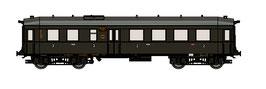 "TT Reisezugwagen ""Altenberg"" 2./3. Klasse DRG, EPII (Art.-Nr. 120001)"