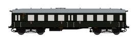 "TT Reisezugwagen ""Altenberg"" 3. Klasse 1.BN DB EP.III (Art.-Nr. 120008)"