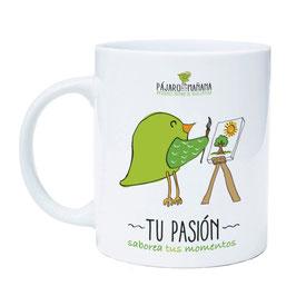 """Taza infusion, """"TÚ PASIÓN"""""""