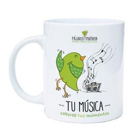 "Taza infusion, "" TÚ MÚSICA"""