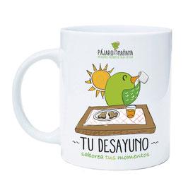 "Taza infusion, "" TÚ DESAYUNO"""