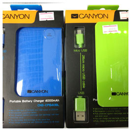 Power Bank Canyon 4000 mAh