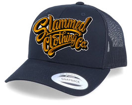 Logo retro trucker