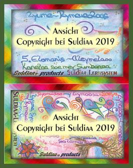 Suldiaas mobiles Lernsystem (Scheckkarten Format)