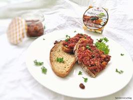 Rindfleisch mit Backobst in Aspik, 180g Glas