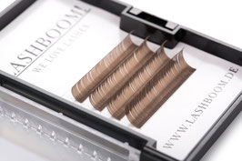 CrazyColors Lashes BRAUN Stärke 0.15 10mm-13mm Mix