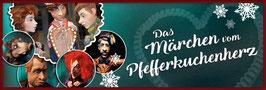 """02.12.2018 um 11:00 Uhr Kindertheater """"Das Märchen vom Pfefferkuchenherz"""" (Ab 4 Jahre)"""