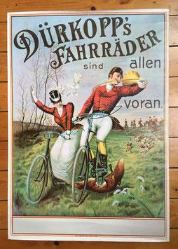Poster Dürkopp's Fahrräder