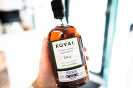 Koval · Single Barrel # 8239 · Hand Selected by Kirsch · Chicago Wheat Whiskey