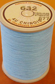 Fil au chinois 632 turquoise