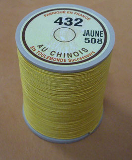 Fil au chinois 432 jaune