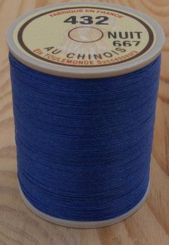 Fil au chinois 432 bleu nuit
