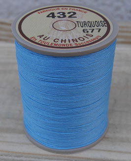 Fil au chinois 432 turquoise