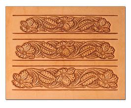 Calque pour le transfert de motifs - motifs floraux pour ceinture 2
