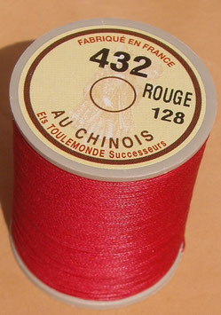 Fil au chinois 432 rouge