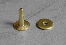 Rivets à mater en laiton 12 mm / T35